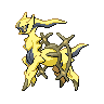 Shiny Arceus (Rock)